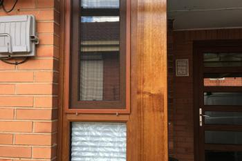 Double glazed tilt and turn corner in Melbourne