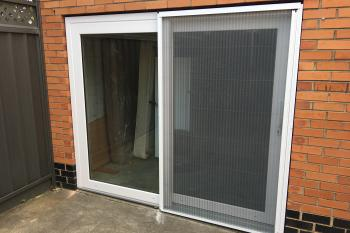 Lift and Slide door installation in Cheltenham, Melbourne. 2016