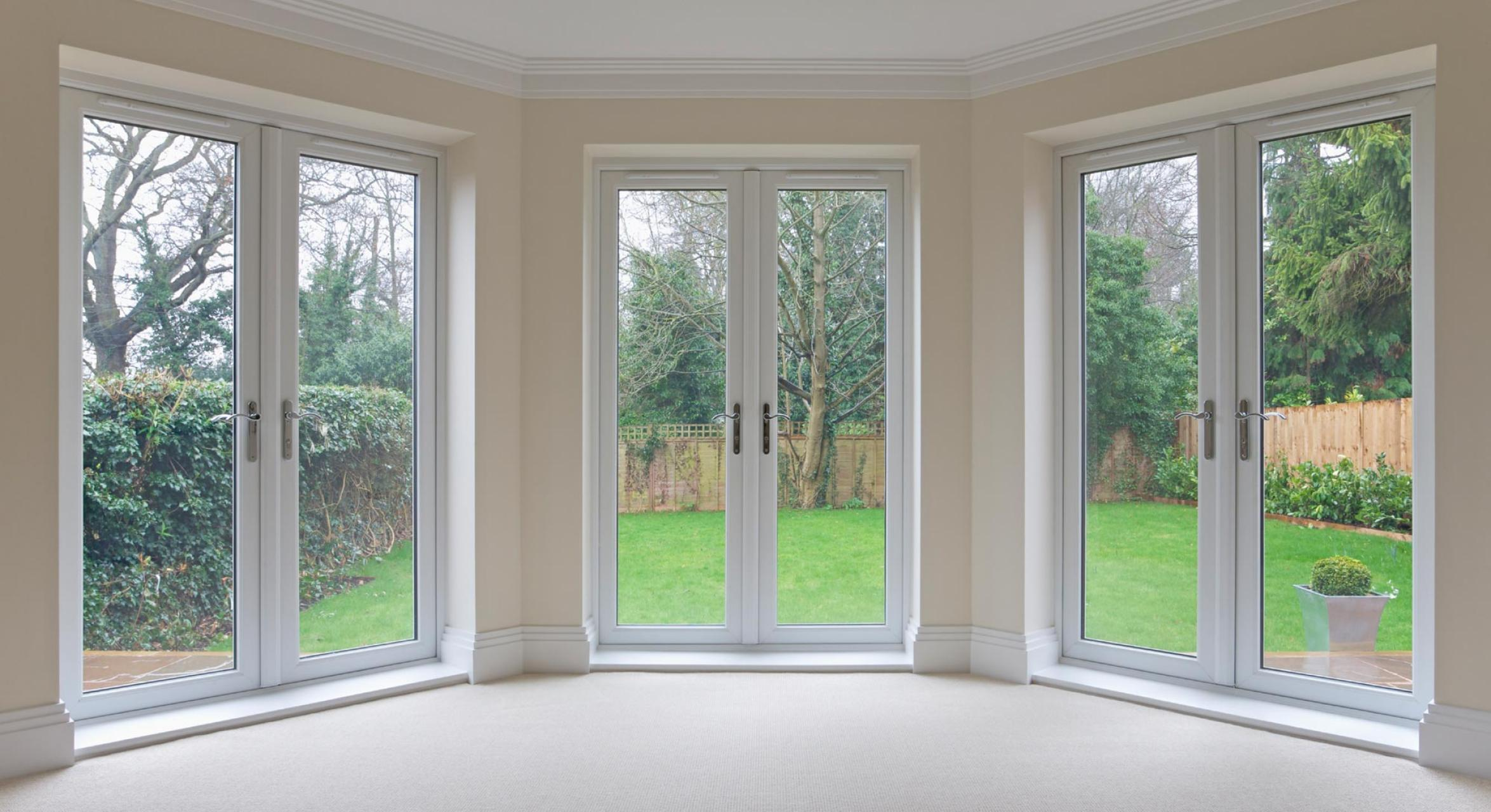 Custom made double glazed windows and doors